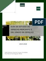 Guia Derecho Mercantil II Uned 2016-2017
