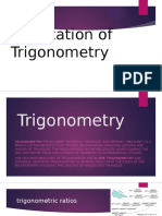 Application of Trigonometry