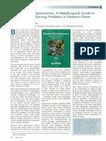 Flotation Plant Optimisation - Book Review