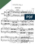 Ouverture-Suite, en ut majeur, pour orchestre, BWV 1066