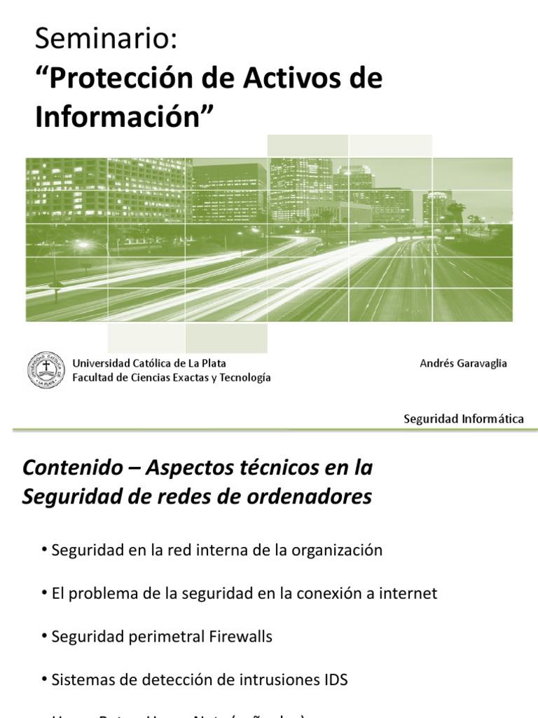 Seguridad - En Redes e Internet