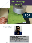 Textile Testing Instrument