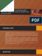 Optimización Económica de Los Ritmos de Producción Parte t1
