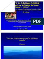 APRESENTAÇÃO_Agrupamento de Escolas Quinta de Marrocos - Escola de Referência para a Educação do Ensino Bilingue de Alunos Surdos