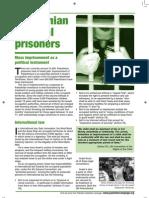 Prisoners Fact Sheet - PALESTINE