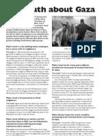 FAQ Gaza Sheet Final