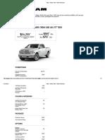 Ram - Build & Price - Vehicle Summary