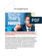 How Nestle Fought Back - Business News Aug 2016