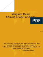 Margaret Mead - Coming of Age in Samoa