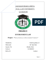 Project Environment Law