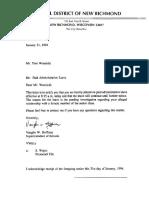 Thomas Woznicki Dismissals (THREE Different School Districts in Wisconsin)