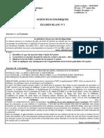 Examen-Blanc-2014-2015-Sciences-Economiques-N°1-Économie-Générale-et-statistique-2-BAC