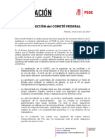 RESOLUCIÓN del COMITÉ-FEDERAL- 14 - 01 - 17