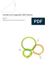 Install and Upgrade Qlik Sense