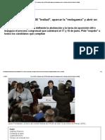 Crisis PSOE_ Fernández Exige Al PSOE Lealtad, Aparcar La Endogamia y Abrir Un Debate Profundo