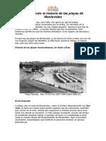 Recorriendo La Historia de Las Playas de Montevideo