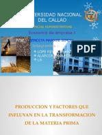 exposicion economia- Produccion