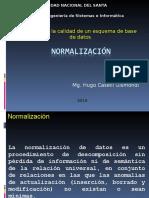 s08 Normalización BD