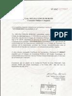 Carta Aceptacion Contadora y Comisaria