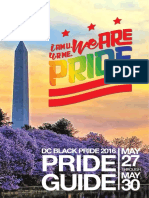 2016 DC Black Pride Guide