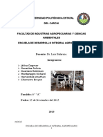 Parámetros de La Produccion de Leche. Chamorro Guerrero Gonzalez Hernandez Játiva Montenegro.