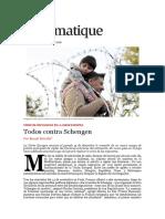 Todos Contra Schengen - Benoît Bréville