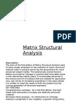 MatrixStructuralAnalysis