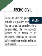 Concepto Derecho Civil