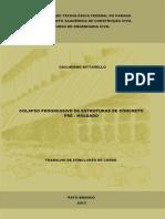 Colapso Progressivo de Estruturas de Concreto
