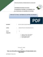 Informe Del Proyecto Final de Abd ..