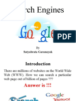 Search Engines Ppt