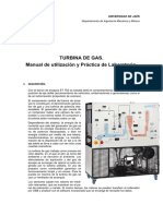 Turbina Gas - Practica Laboratorio