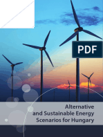 Alternative and Sustainable Energy Scenarios for Hungary