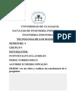 Tecnologia de Los Materiales-Video