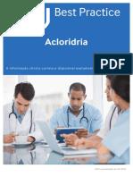 Acloridria