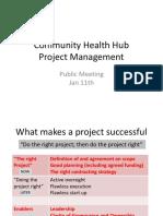 CHHTF Jan 11 Public Meeting Project Management PDF