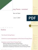 Slides Church-Turing Thesis (MoC)