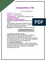 Fiche Pédagogique Compo 3ème AP