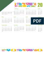 Calendário Para Qualquer Ano1