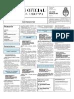 Boletin Oficial 22-06-10 - Tercera Seccion