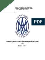 Investigación del Clima Organizacional.docx
