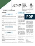 Boletin Oficial 24-06-10 - Primera Seccion