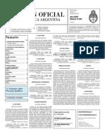 Boletin Oficial 24-06-10 - Segunda Seccion