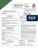 Boletin Oficial 28-06-10 - Primera Seccion