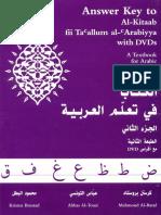 Al-Kitaab Part Two Answer Key