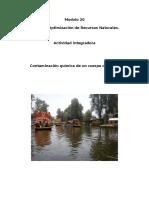 Contaminacion Quimica de Lagua ( Xochimilco)