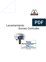 Levantamiento en Trimble Survey Controller GEOCOM