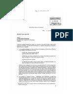 Carta del Ejecutivo observando la Ley Nº 28044