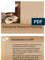 Chap 1 Introduction to ERP