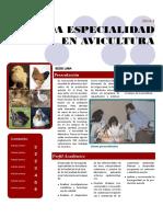 Segunda Especialidad en Avicultura 2014